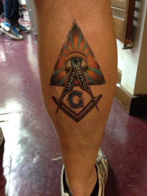 hidden hand tattoo yelp freemason masonic tattoo the artist was chuy great job