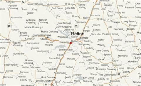 belton location guide