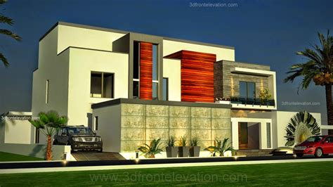 modern homes elevations and plans in dubai studio