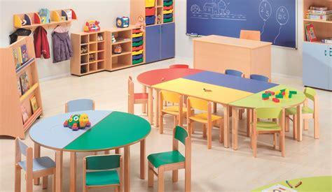 mesa trapezoidal escuela infantil aula  infantil en