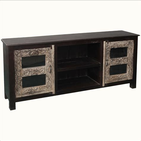 long reclaimed wood media cabinet 70 quot long media console reclaimed wood stand