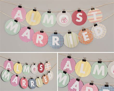 Bunting Flag Diy Banner Baby Shower Banner Bridal Shower Banner Req bridal shower banner free printable my wedding rsvp