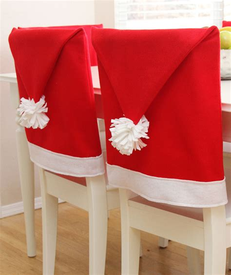 santa hat seat covers 7 ways to decorate your dining