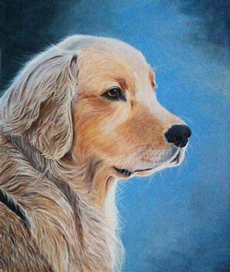 cuadros de perros al oleo retrato perro 211 leo sobre lienzo animales pinterest