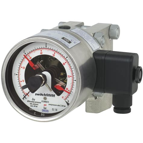 Pressure Switch Pressure Pro Instrument differential pressure with switch contacts dpgs43hp 100 dpgs43hp 160 wika india