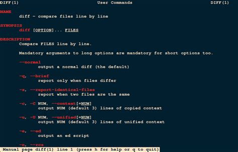 file format linux command 9 best file comparison and difference diff tools for linux