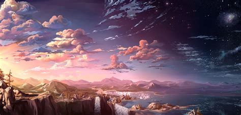 wallpaper anime landscape anime landscapes google search anime pinterest
