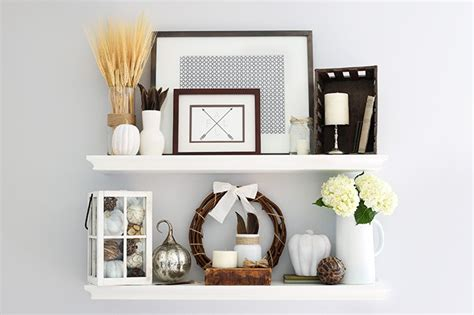 decorating with floating shelves interior design styles the best sources for affordable fall decor just a girl