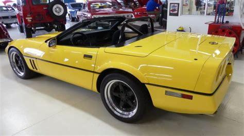 free car manuals to download 1987 chevrolet corvette instrument cluster 1987 chevrolet corvette gs 80 46392 miles yellow convertible v8 5 7l manual 4 sp for sale