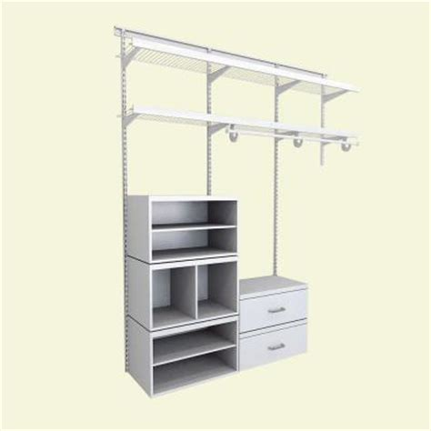 Closetmaid Closet System Closetmaid Elite 96 In H X 72 In W X 14 1 In D 35