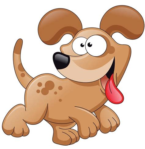 dogs in animated characters vector