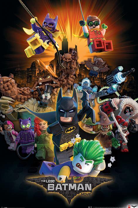 Plakat Lego by Lego 174 Batman Posters Pyramid International
