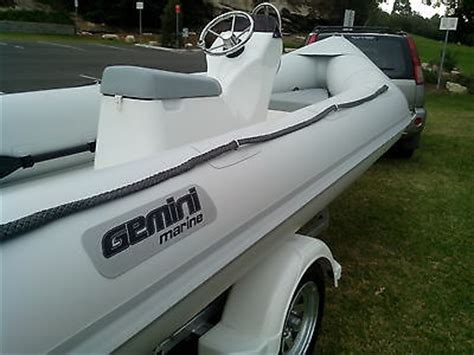 gemini inflatable boats for sale 2015 gemini for sale in woolwich new south wales australia