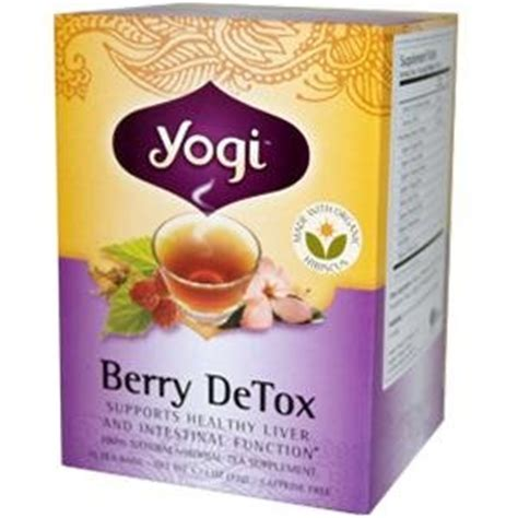 Yogi Berry Detox Test by Yogi Tea Tea For Your Berry Detox Tea 16