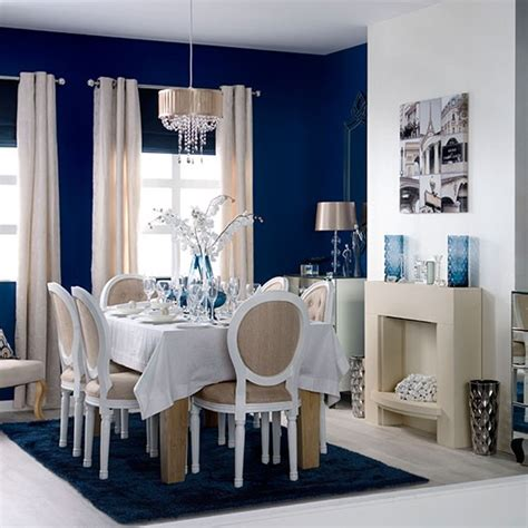 Blue And White Dining Room by Blue And White Dining Room Dining Room