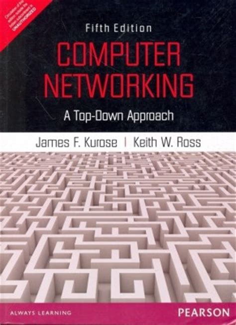 computer networks fifth edition a systems approach books buy computer networking a top approach 5th edition