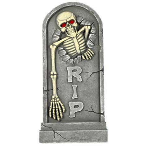 Tombstone Decorations by Tombstone Light Up Decoration