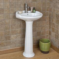 farnham porcelain mini pedestal sink farnham porcelain mini pedestal sink pedestal sink