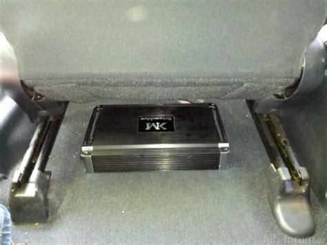 Auto Subwoofer Unterm Sitz by Honda Civic Fn2 Neues Auto Alte Komponenten Gt Neues