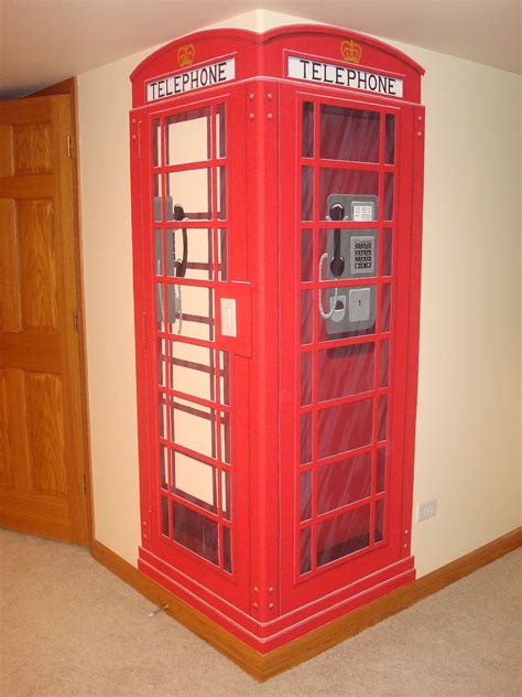 london phone booth bookcase british phone booth mural how cool is that pinteres