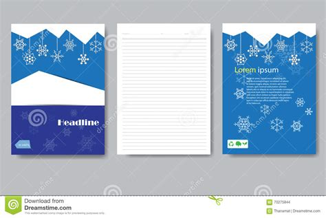 thesis abstract deutsch design cover paper christmas report stock vector image
