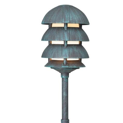 Corona Landscape Lighting Corona Lighting Cl 644 Aluminum 4 Tier Pagoda And 12v T3 T4 50w Max Yard Outlet