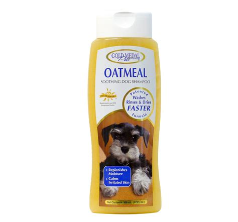 oatmeal shoo for dogs gold medal pets oatmeal shoo for 500 ml dogspot pet supply store