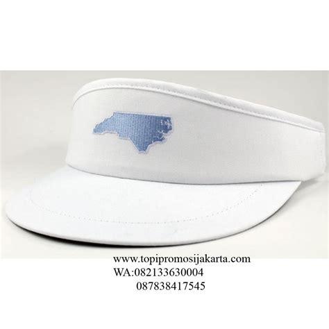 Aksesoris Topi Golf Murah jual topi golf promosi warna putih harga murah jakarta oleh kreasi putra mandiri