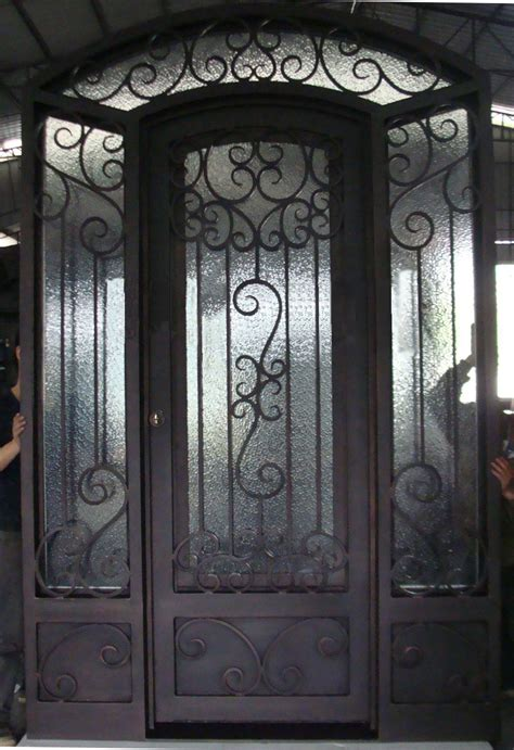 Wrought Iron Interior Door Wrought Iron Doors With Interior Glass Sliding Door For Lm D069 In Doors From Home Improvement