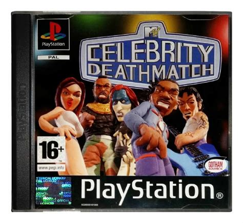 celebrity deathmatch box set mtv celebrity deathmatch ps1 game playstation a ebay