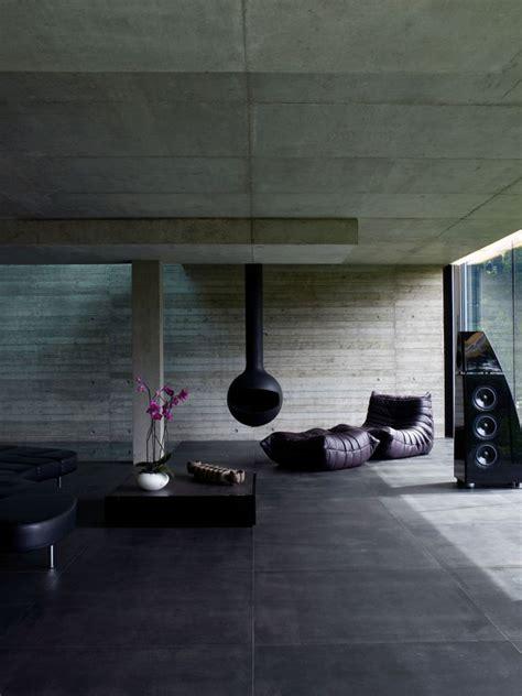 black interior interior design ideas