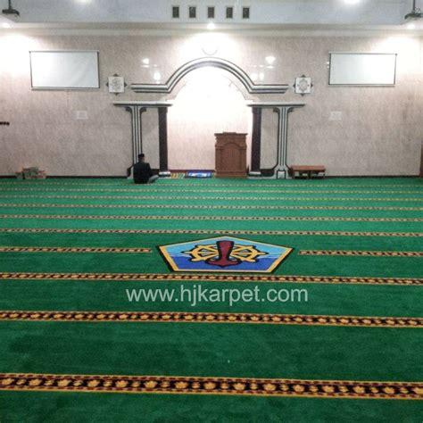 Karpet Masjid Bandung pemasangan karpet masjid supm tegal hjkarpet