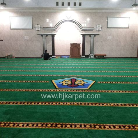Karpet Masjid Di Madiun pemasangan karpet masjid supm tegal hjkarpet