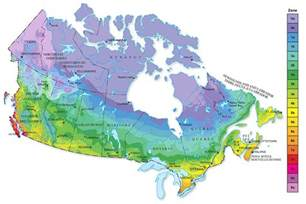 canadian hardiness map harvesthyme vegetables and herbs climate zone