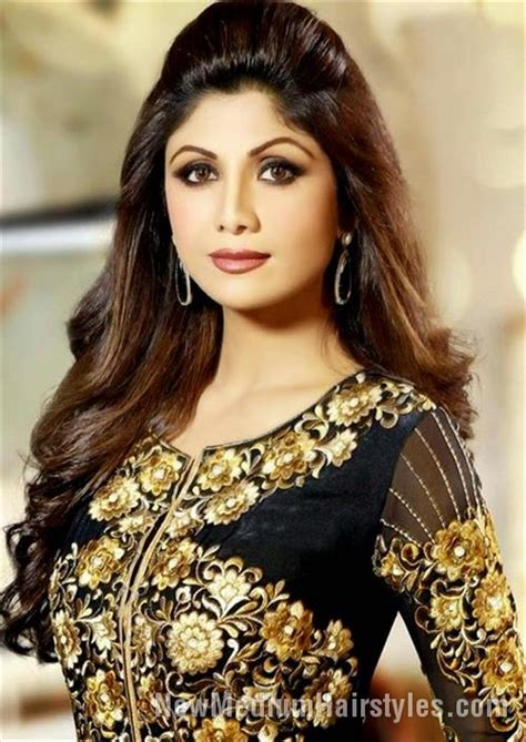 hairstyles for long hair on salwar suits best shilpa shetty hairstyles for girls 187 new medium