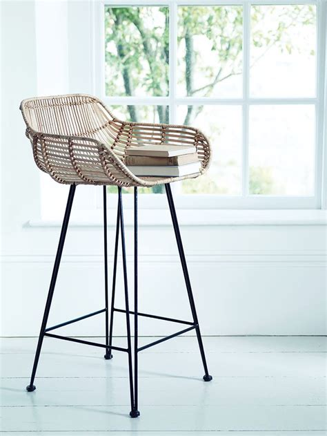 bar chairs and stools best 25 rattan bar stools ideas on pinterest coastal