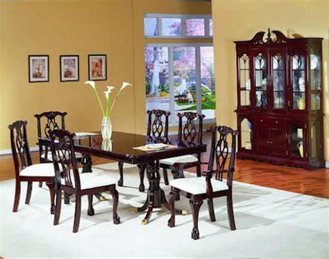 pc dining room set hutch buffet   sale