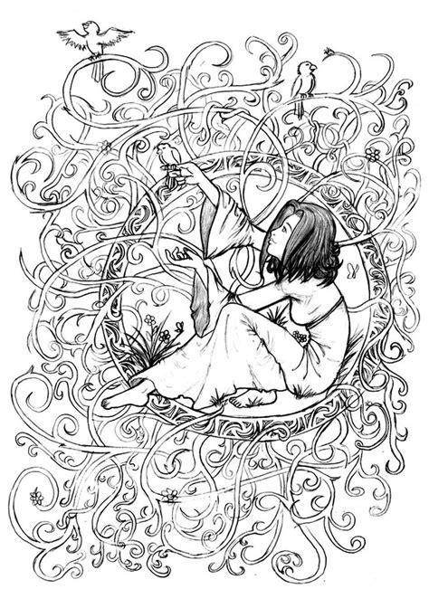 galerie de coloriages gratuits coloriage adulte zen anti