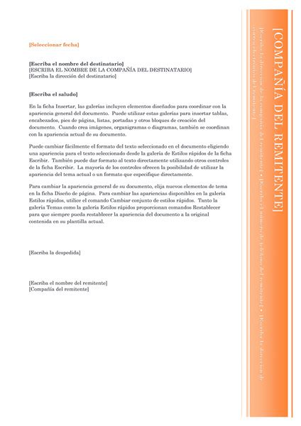 plantilla carta formal word 2007 cartas office