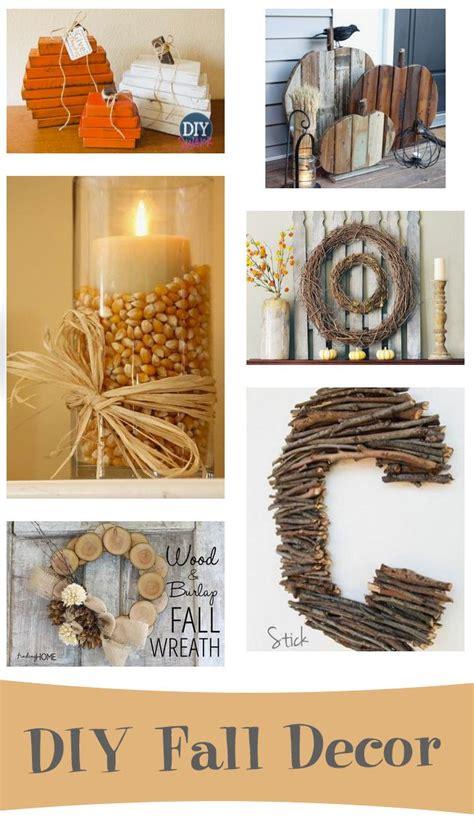 home made fall decorations diy fall decor diy decor pinterest