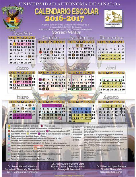 Calendario Sello Universidad Autonoma De Sinaloa Facultad De Psicolog 237 A