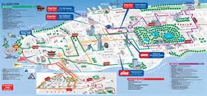 Map Of New York City Attractions by New York Map For Tourists