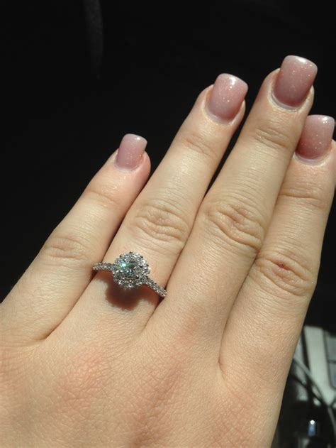 my vera wang engagement ring