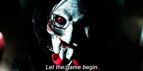 film horror jigsaw animated gifs about jigsaw let the game begin meme found