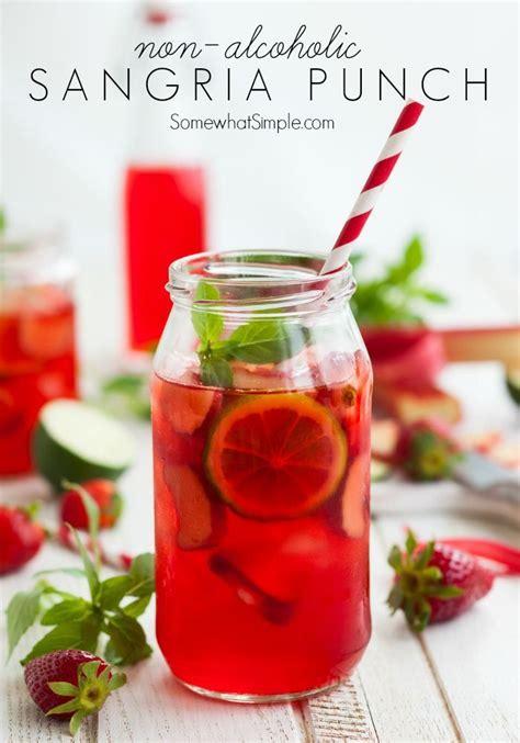 non alcoholic sangria punch recipe non alcoholic sangria and non alcoholic sangria