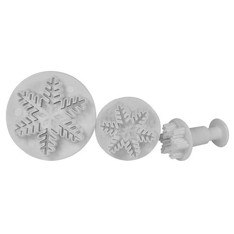 Plunger Cutter Snowflake snowflake plunger cutter set ny 11287 country kitchen