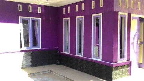 terbaru warna cat rumah ungu violet warna cat