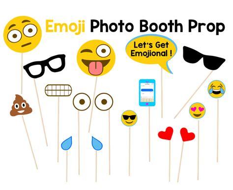 printable emoji photo booth props photo booth props accesorios de cabina de fotos