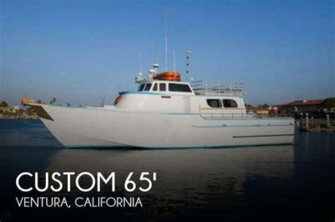 fishing boats for sale in ventura california for sale used 1967 custom 65 commercial sportfisher in