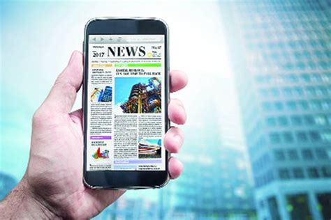 mobile news india evolution of news in a digital world the financial